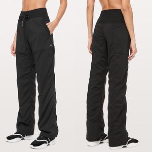 Lululemon Black Studio Dance Pants